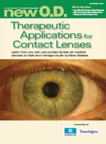 Therapeutic Applications for Contact Lenses