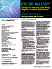 Strategies for Improving Ocular Allergy Diagnosis, Treatments, and Outcomes-CASE 3 in a Series of 4