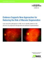Evidence Supports New Approaches for Reducing the Risk of Macular Degeneration