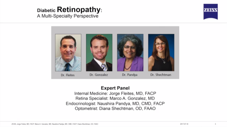 Diabetic Retinopathy: A Multi-Specialty Perspective
