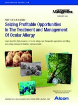Seizing Profitable Opportunities In The Treatment and Management Of Ocular Allergy
