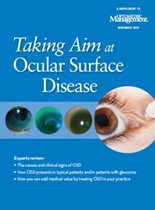 Taking Aim at Ocular Surface Disease