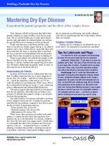 Building a Profitable Dry Eye Practice